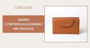 5 portefeuilles Gondole Mac Douglas offerts