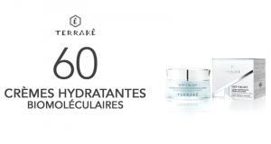 60 Crèmes Hydratantes Biomoléculaires de TERRAKÉ à tester