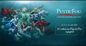 60 entrées pour le Puy du Fou offertes