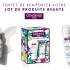 61 lots de 2 produits de soins Condense Paris offerts