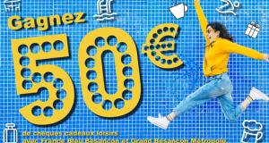 65 chèques cadeaux Loisirs de 50 euros offerts