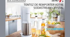 8 appareils à soda Sodastream offerts
