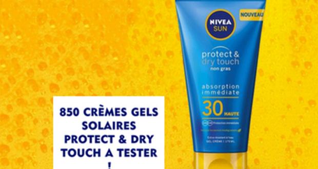 850 Crèmes gels Protect & Dry Touch NIVEA à tester