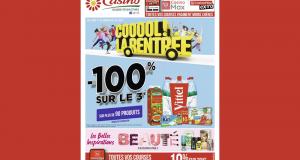 Catalogue Casino du 17 août au 30 août 2020