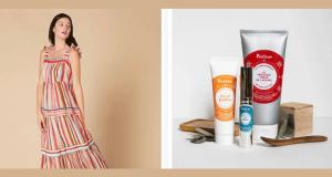 Lot de 3 produits cosmétiques Polaar + Une robe René Dhery