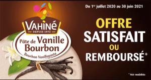 Pâte de Vanille de Bourbon Vahiné 100% Remboursé