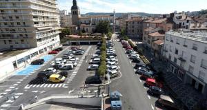 Stationnement gratuit en zone verte - Saint-Étienne