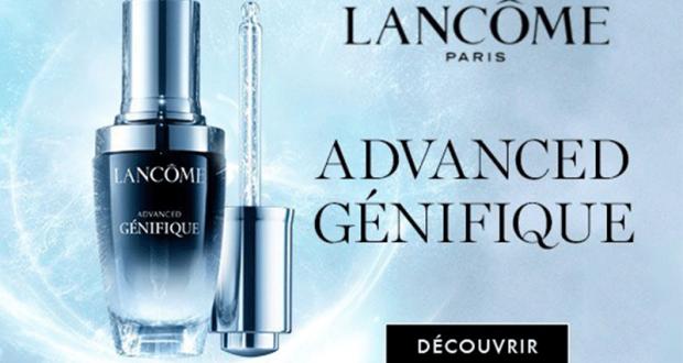 Échantillons du sérum activateur d'éclat Advanced Généfique Lancôme