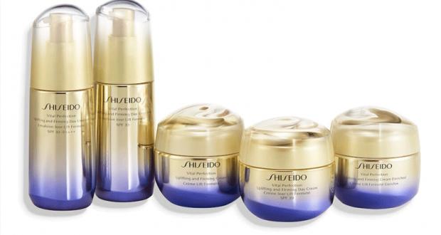 10 lots de 2 produits de soins Shiseido offerts