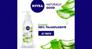 100 Gel Nettoyant Micellaire Naturally Good de Nivea à tester