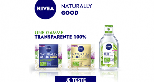 100 Soin de Jour Anti-Âge Naturally Good de Nivea à tester