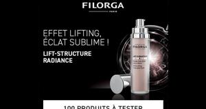 100 Soins Lift-Structure Radiance de Filorga à tester
