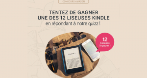 12 liseuses Amazon Kindle offertes