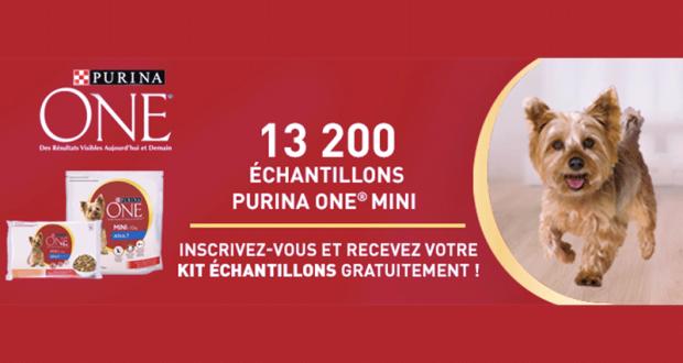 13200 Kits d'échantillons gratuits pour chiens PURINA ONE