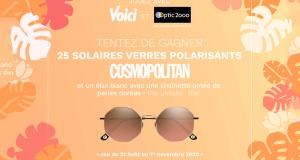 25 paires de lunette de soleil Optic 2000 offertes