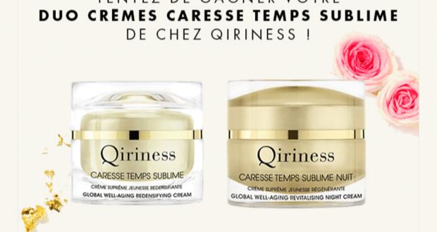 27 lots de 2 crèmes de soins Qiriness offerts