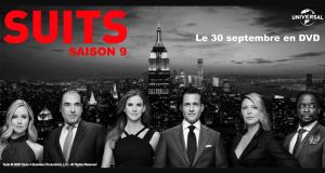 """30 coffrets 4 DVD de la série """"Suits - saison 9"""" offerts"""