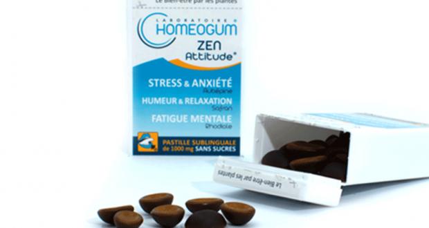 35 cures Anti-stress Homeogum offertes