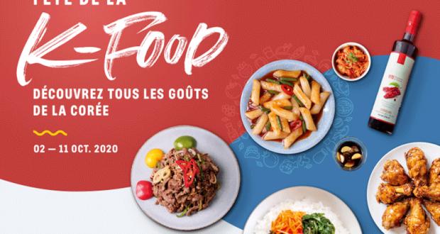36 paniers gourmands de produits coréens offerts