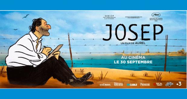 40 lots de 2 places de cinéma pour le film Josep offerts