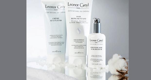 5 lots de 3 soins capillaires Leonor Greyl offerts
