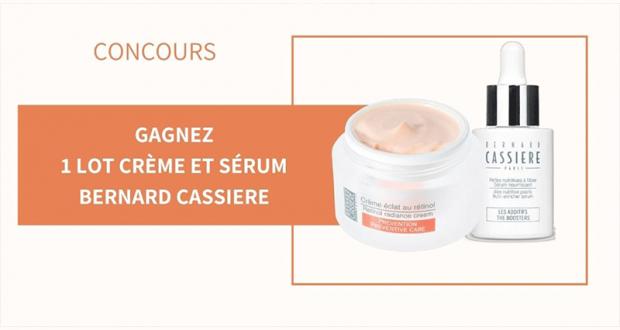 6 lots de 2 produits de soins Bernard Cassière offerts