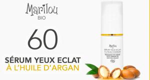 60 Sérum Yeux Éclat à l'huile d'Argan Marilou Bio à tester