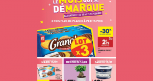 Catalogue Aldi du 16 septembre au 22 septembre 2020