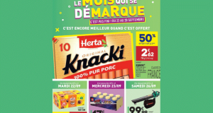 Catalogue Aldi du 22 septembre au 28 septembre 2020