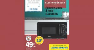 Catalogue E.Leclerc du 01 septembre au 19 septembre 2020