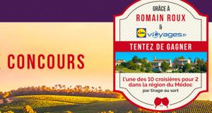 En jeu 10 croisières de 5 jours pour deux dans la région du Médoc