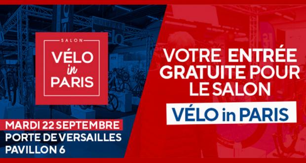 Invitation Gratuite pour le salon Vélo in Paris à paris