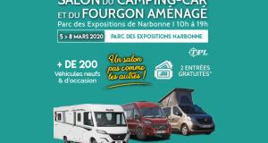 Invitations gratuites pour le salon du Camping Car Narbonne