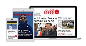 Ouest-France 3000 abonnements numériques gratuits pendant 2 mois
