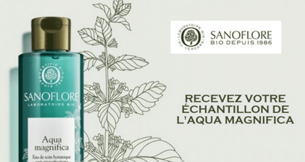 10 000 Échantillons gratuits du soin Aqua Magnifica Sanoflore