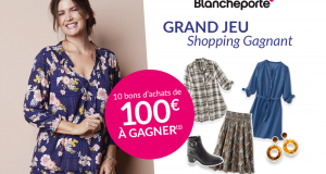 10 bons d'achat Blancheporte de 100€ offerts