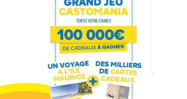 14.749 cartes cadeau Castorama offertes