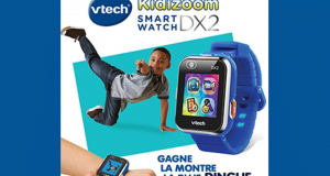 15 montres Kidizoom Smartwatch DX2 bleue offertes