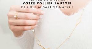 17 colliers Misaki Monaco offerts