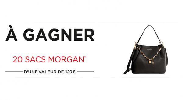 20 sacs Morgan offerts (Valeur unitaire de 129 euros)