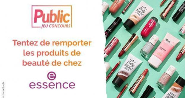 28 box beauté Essence Cosmetics offertes