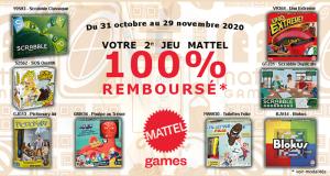 2ème Jeu Mattel 100% Remboursé