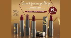 30 lots de 4 rouges à lèvres Fleurance Nature offerts