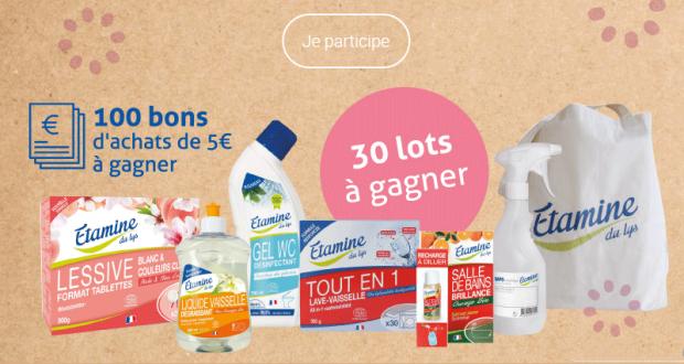 30 lots de produits ménagers écologiques offerts