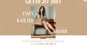 4 sacs Kate Lee offerts