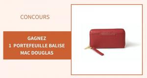 5 portefeuilles Mac Douglas Balise offerts