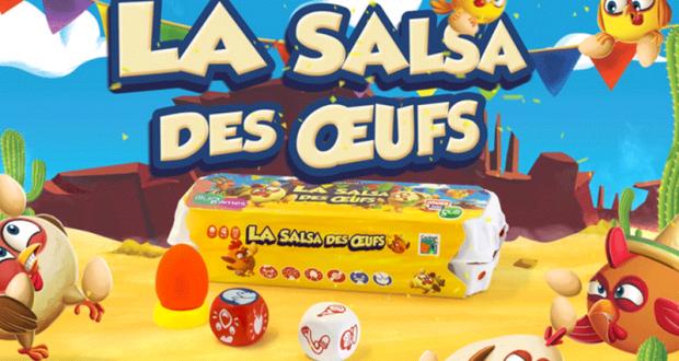 50 jeux de société La salsa des oeufs offerts