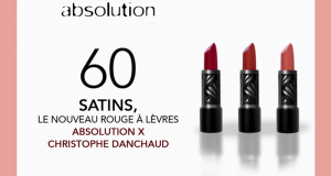 60 Satins Absolution X Christophe Danchaud à tester