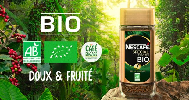 700 coffrets Café instantané Bio à tester