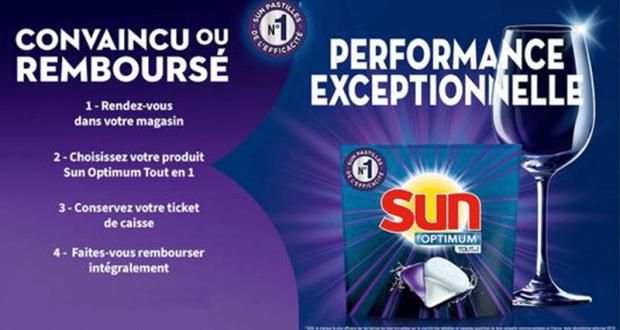 Capsules Optimum Tout en 1 Sun 100% Remboursé